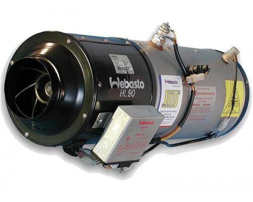 Електропідігрівач повітря системи опалення салону