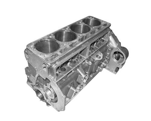 Блок циліндрів двигуна