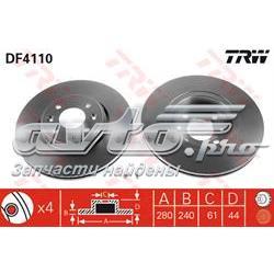 диск гальмівний передній  DF4110