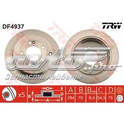 диск гальмівний задній  DF4937