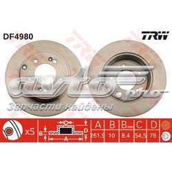 диск гальмівний задній  DF4980