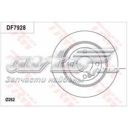 диск гальмівний задній  DF7928