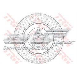 диск гальмівний задній  DF6175S
