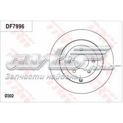диск гальмівний задній  DF7996