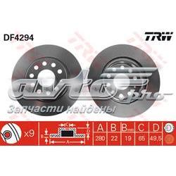 диск гальмівний передній  DF4294
