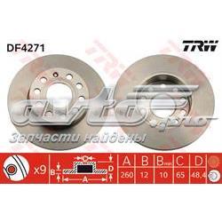 диск гальмівний задній  DF4271