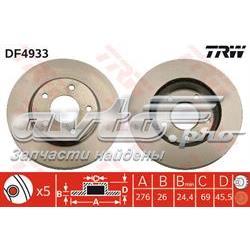 диск гальмівний передній  DF4933