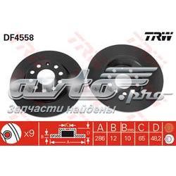 диск гальмівний задній  DF4558
