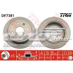 диск гальмівний задній  DF7381