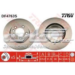 диск гальмівний передній  DF4763S