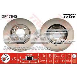 диск гальмівний передній  df4764s
