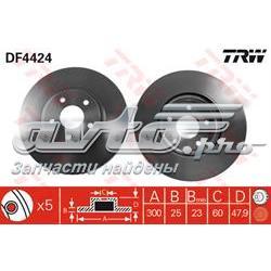 диск гальмівний передній  df4424