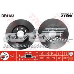 диск гальмівний передній  DF4183