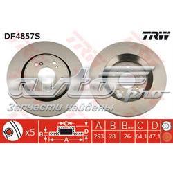 диск гальмівний передній  DF4857S