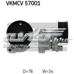 натягувач приводного ременя  VKMCV57001