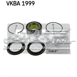 підшипник маточини передньої  VKBA1999