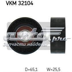 ролик приводного ременя, паразитний  VKM32104