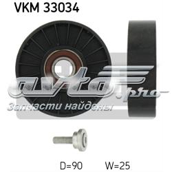 ролик приводного ременя, паразитний  VKM33034