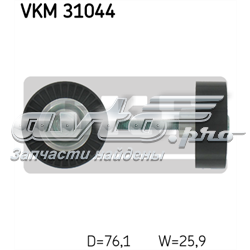 ролик приводного ременя, паразитний  VKM31044