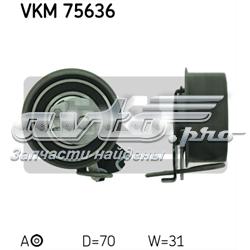ролик натягувача ременя грм  vkm75636