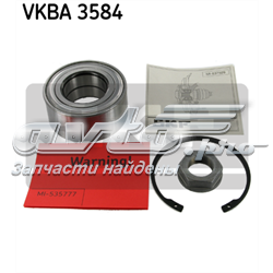 підшипник маточини передньої  VKBA3584