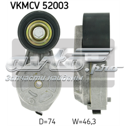 натягувач приводного ременя  VKMCV52003