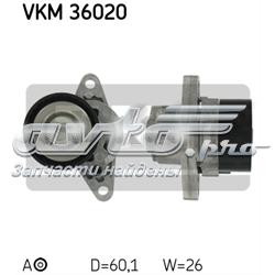 натягувач приводного ременя  VKM36020