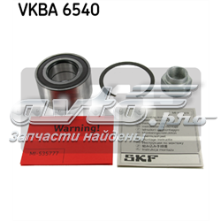 підшипник маточини передньої  VKBA6540
