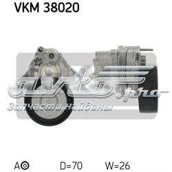 натягувач приводного ременя  VKM38020