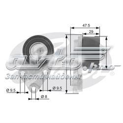 натягувач приводного ременя  T43039