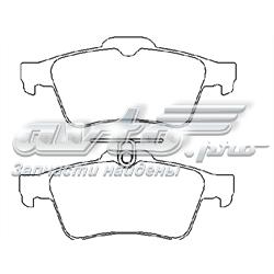 колодки гальмові задні, дискові  P59042
