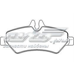 колодки гальмові задні, дискові  P50084