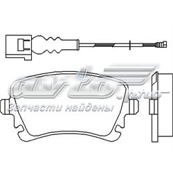 колодки гальмові задні, дискові  P85083