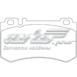 колодки гальмові задні, дискові  P50061