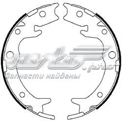 колодки ручника/стоянкового гальма  FSB4019
