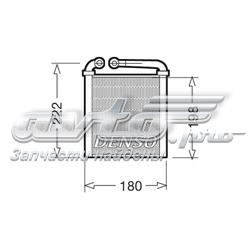 радіатор пічки (обігрівача)  DRR32005