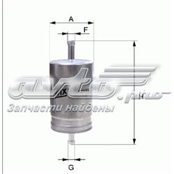 фільтр паливний  WF8041