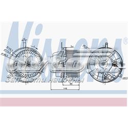 двигун вентилятора пічки (обігрівача салону)  87032