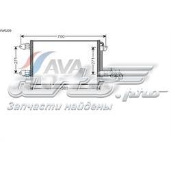 радіатор кондиціонера  vw5209