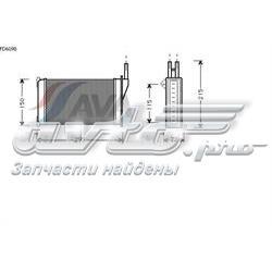 радіатор пічки (обігрівача)  FD6098