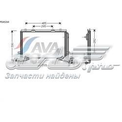радіатор кондиціонера  MSA5268