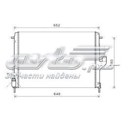 радіатор охолодження двигуна  RT2478