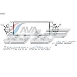 радіатор интеркуллера  VW4233
