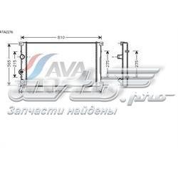 радіатор охолодження двигуна  RTA2276