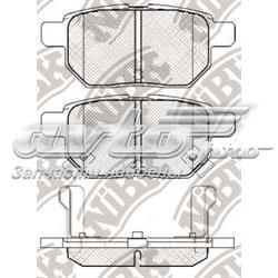 колодки гальмові задні, дискові  PN1519