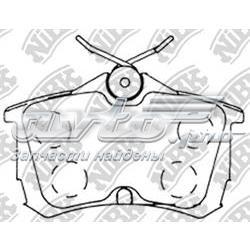 колодки гальмові задні, дискові  PN8109