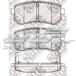 колодки гальмові задні, дискові  PN0436