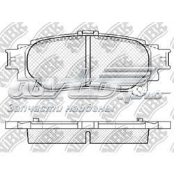 колодки гальмові задні, дискові  PN1846