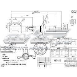 амортизатор передній, лівий  ST4852049167