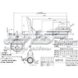 амортизатор передній, лівий  ST48520A9220